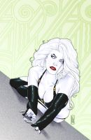 Lady Death Art Deco 28 by MDiPascale