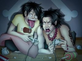 OP:Gamer Brothers by Rali-95