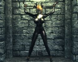 Charlotte chained to wall 2 by skygaggedrim