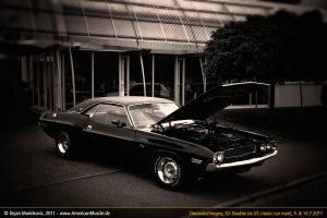black 70 dodge challenger by AmericanMuscle