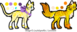 CLOSED - Cats Adoptables 20 by LeaAdoptables