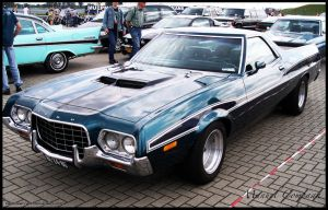 1972 Ford Ranchero by compaan-art