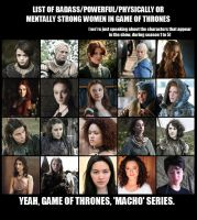Meme - Women in GOT by K-yon