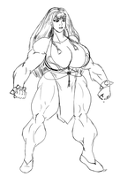 Stream - Thick Chun-li by dwarfpriest