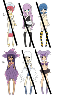 Pokemon Gijinka Adoptable ~ SOLD ~ by xXxSHIPPOxXx