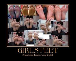 Girls Feet by Sasori711