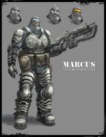 Marcus cold weather painted by steven6