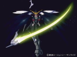 Deathscythe from Endless Waltz by Anime-Guru