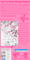 How To Clean Raw Manga Pages by MOFOSTAN
