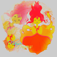 Flame Princess by xiFeelGood