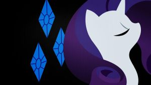 Rarity Carbon fiber wallpaper by Nothingall3n4
