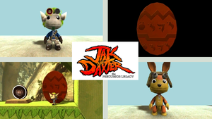 Jak and Daxter customs by midnightheist