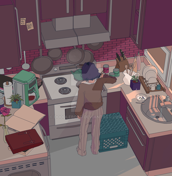 cooking by DoodleBozo