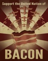 The United Nation of Bacon by skullx