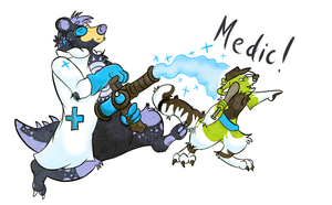 -MEDIC- by MuttMadness
