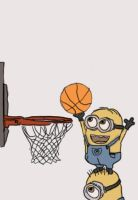 Minion Basketball by TurtlePine