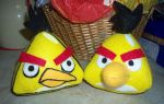 Angry Birds Chuck (2 versions) by TashaAkaTachi