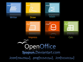 Open office Icons by ipapun