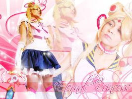 Cris as Princess Sailor Moon by carolmanachan