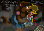 Little Red Ridding Hood (Nelson x Lisa) by cyngawolf