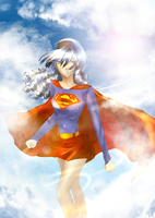 VT - Weekly Challenge Superheroine by Rumbl3Fish