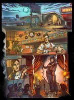 Cafe Frankenstien Prologue page by WacomZombie