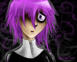 Death Stare O__o by Midknightstorm