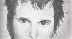 Matt Bellamy's Blue Eyes by Ts0F