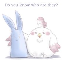 Do you  know who are they? by GreenTeaNeko