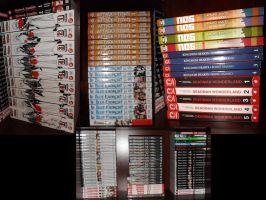 Manga Collection 2-5-2014 by OppaFaustusStyle