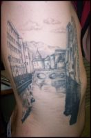 French Canal tattoo by hellcatmolly