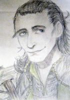Loki Sketch by Altalia
