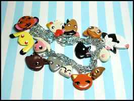 Fruits Basket Zodiac Bracelet by GrandmaThunderpants