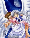 Sakura+Yue: Fly Me to the Moon by YoukaiYume