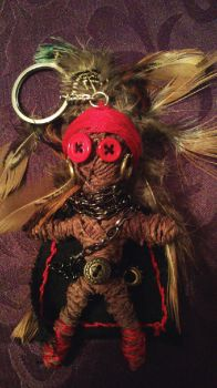 Homemade Voodoo doll by Doualias