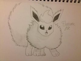Flareon by ThunderJess