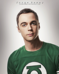 Jim Parsons(Sheldon Cooper) by jorgeremmy