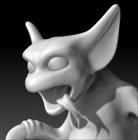 Demon without color 01 by sav8197