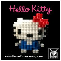 HelloKitty by VoxelPerlers