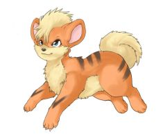 +Growlithe+ by Sprinkling-stars