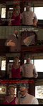 TF2 - Dr.Bendova in a restaurant by Queen-Koopa