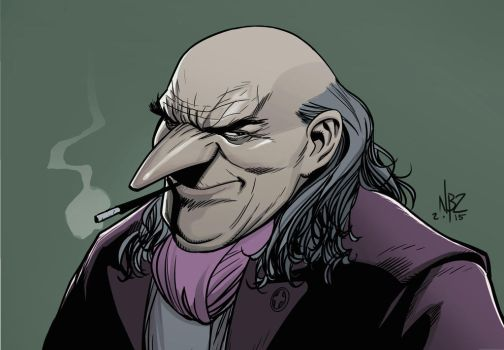 The Penguin Oswald Cobblepot by NelsonBlakeII