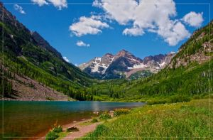 Maroon Bells by chemical-mischa