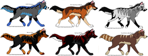 Musical Adopts 9 by MonsoonWolf