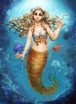 ..:: [COMMISSION] BEAUTIFUL MERMAID ::.. by TitPrince