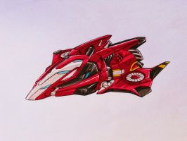 SEEKER team request: THRUST alt mode by kishiaku