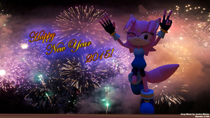 Happy New Year JessyMoon 2015 by amyrose7