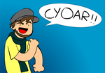 Random Caddicarus doodle by SuperSmash3DS