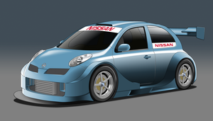 SuperT12 Race Series - Nissan March by StylePixelStudios