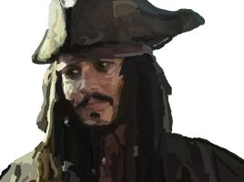 MS-Paint- Jack Sparrow DONE by mel-lyks-cereal